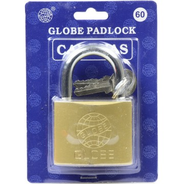 63MM GLOBE PADLOCK