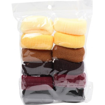 HAIR TIES 12PCS