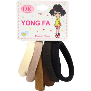 HAIR TIES 6PCS