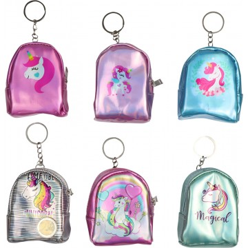 UNICORN HOLOGRAPHIC PURSE