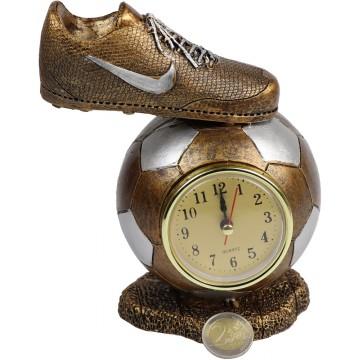 RESIN FOOTBALL W/CLOCK