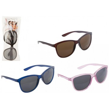 SUNSTOPPERS OVAL STYLE SUNGLASSES 4ASSTD COLOURS