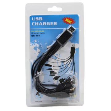 10IN1 USB CHARGER CABLE