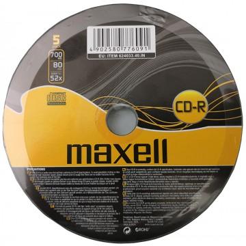 Maxell 624033.40 CDR80 5pk...