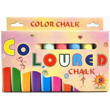 8pcs Jumbo Colored Chalk