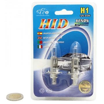 H1 12V55W LIGHT BULBS