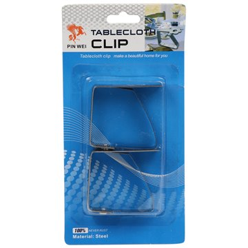 Stainless Steel Tablecloth Clip (40)