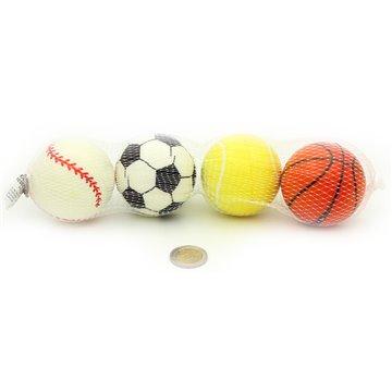 4Pc 6.3Cm Pu Balls