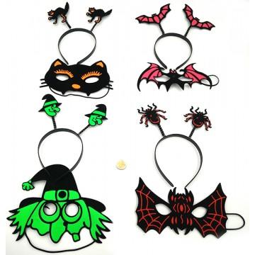 Halloween Headband&Mask-Assorted