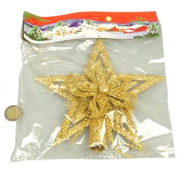 Gold Star Tree Top 20*20CM