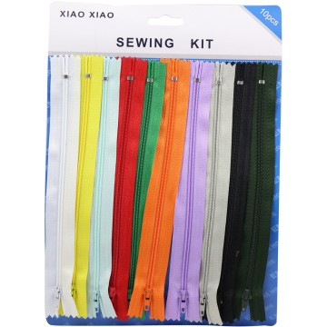 10pcs Colour Zip (12)