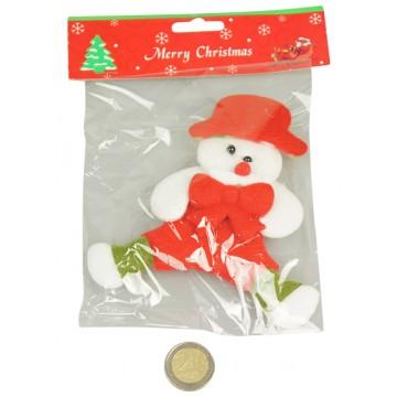Plush Snow Man Ornament 12*14CM