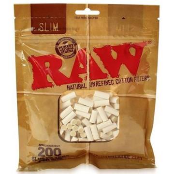 RAW Slim 6mm Cotton Filter...