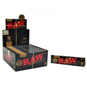 RAW Black Classic King Size...