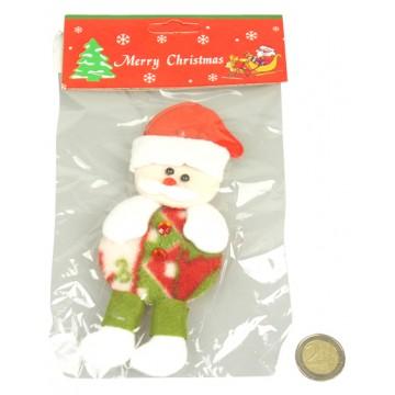 Plush Santa Ornament 8*8CM