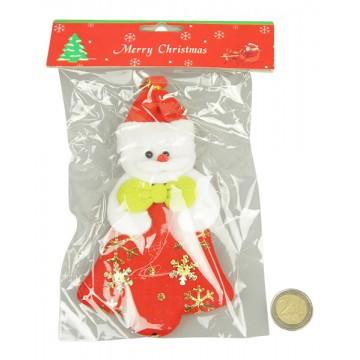 Plush Santa Ornament 10*18CM