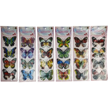 Butterfly Wall Décor Assorted 12X43cm