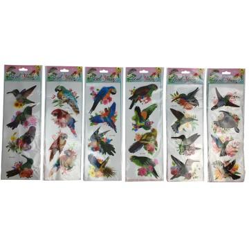 Bird Stickers Assorted...