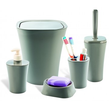 5pcs Bathroom Set (grey only)