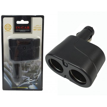 2 Sockets Cigarette Lighter...