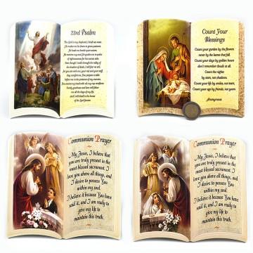 Holy Plaque Book 16X14.5cm