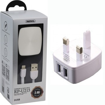 REMAX 2.4 A Dual USB...