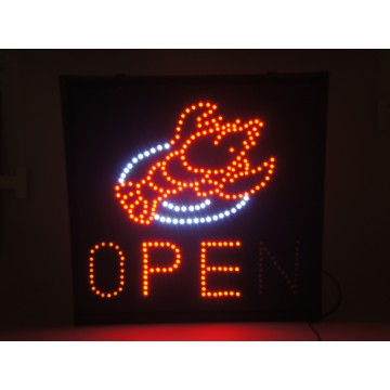 Led Sign (Sea Food)48*48cm