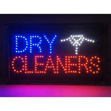 Led Dry Clean Sign(33*55cm)