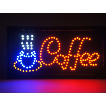 Led Coffee Sign(25*48cm)