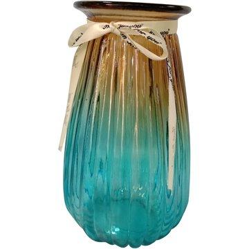 Glass Vase 21X10cm