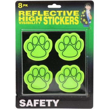 8PK Reflective Hi Vis Stickers