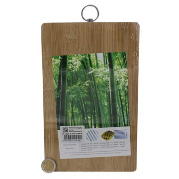 25*16CM BAMBOO CHOPPING BOARD
