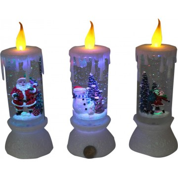 LED XMAS CANDLE LIGHT 10*27CM
