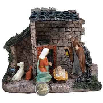Resin Light Up Nativity Set