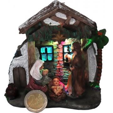 Light Up Resin Nativity...