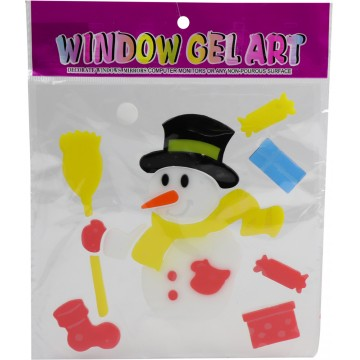 Christmas Window Gel...