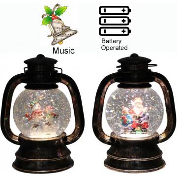 Musical Christmas Gas Lamp...