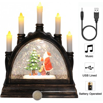 Musical Bridge Frame Candle...