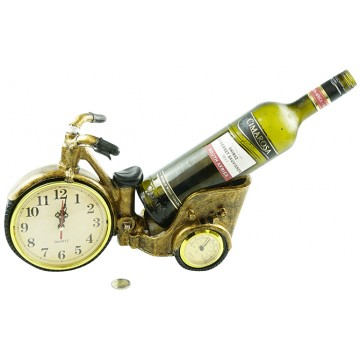 TRIKE CLOCK W/WIND HOLDER