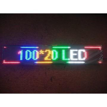 100*20CM COLOR LED SIGN