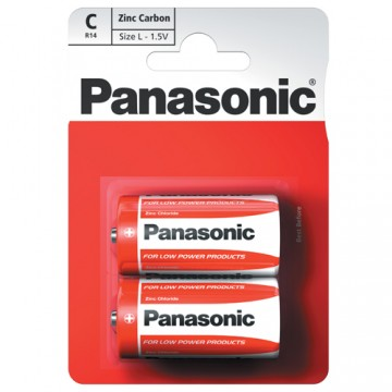 PANASONIC ZINC C 2PK