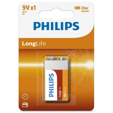 PHILIPS LONGLIFE 9V