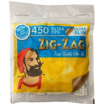 ZigZag UltraSlimFilter Bag of 450