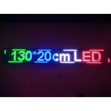 130*20CM COLOR LED SIGN