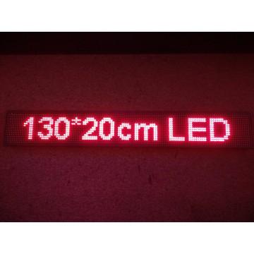 130*20CM RED LED SIGN