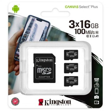 3pcs Kingston SDCS2/16GB...