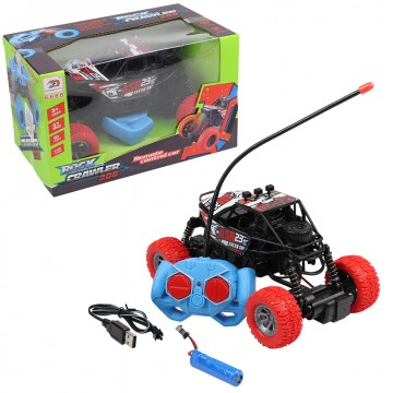RC Rock Crawler With USB...