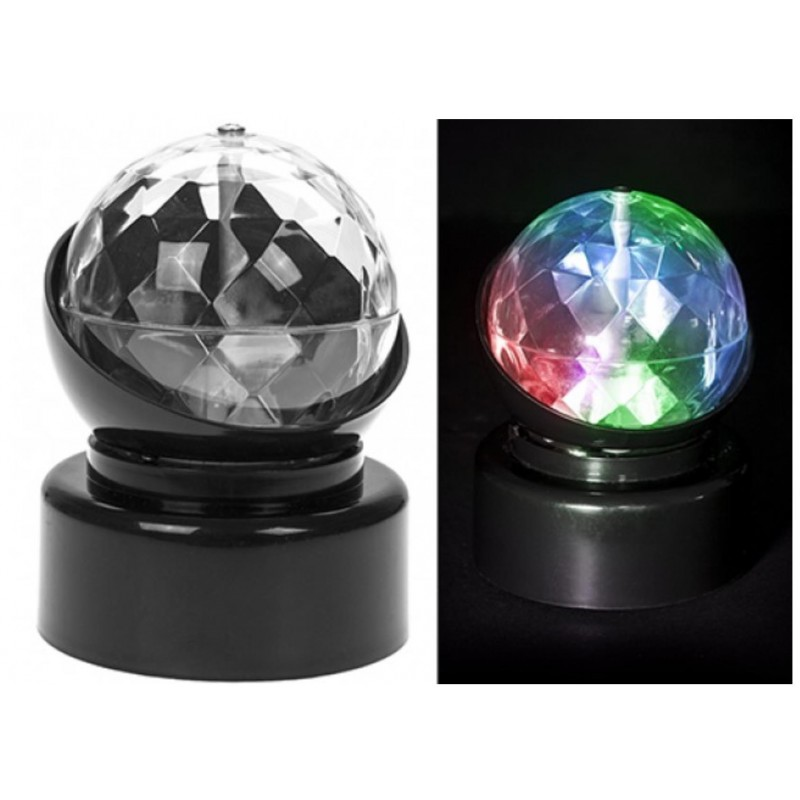 MINI PARTY CRYSTAL BALL LIGHT