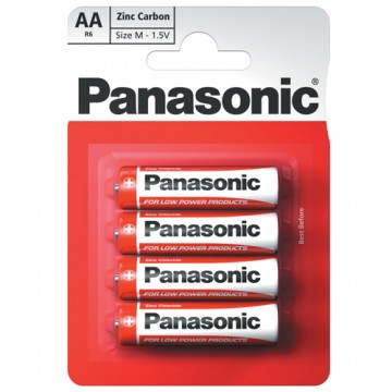 Panasonic Zinc AA 4/PK