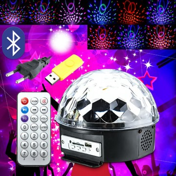 LED MAGIC BALL LIGHT SPEAKER 19*19*16CM